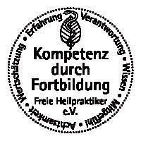 Qualitätssiegel des freie Heilpraktiker e.V.